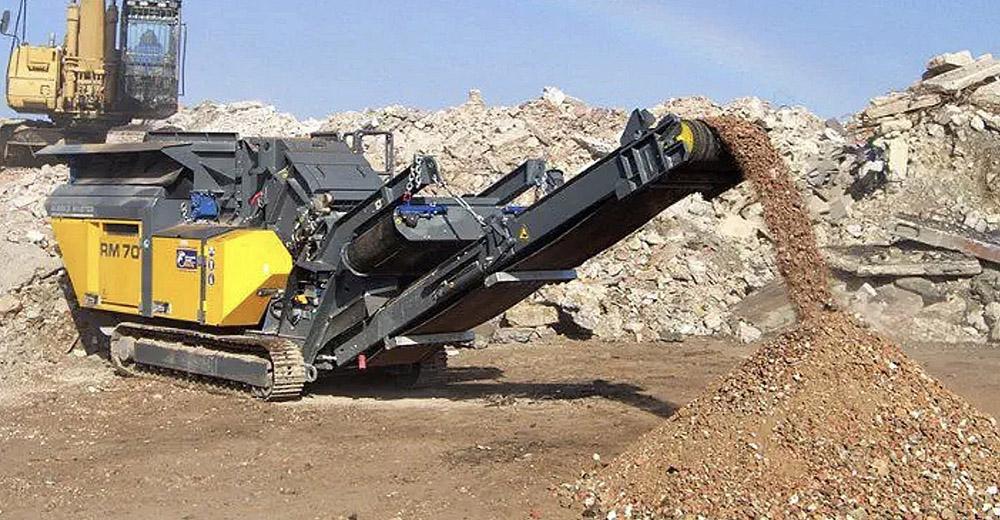 Top Notch Construction Rock Crusher